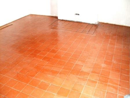 Quarry Tiled Floor After Cleaning and Sealing