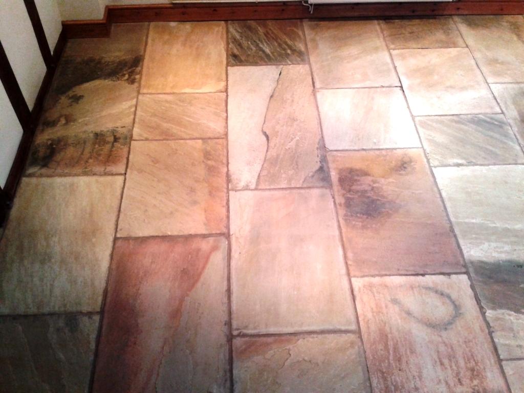 Indian Sandstone in Cleestanton After Cleaning