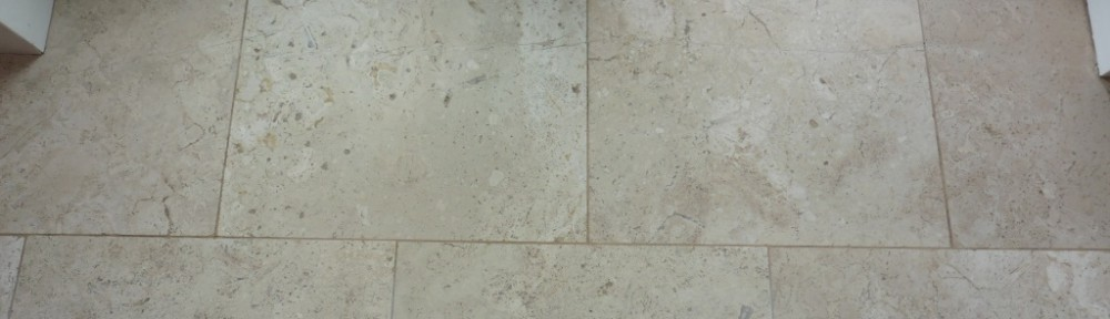 Cracked Travertine Tiles Repaired in Worfield