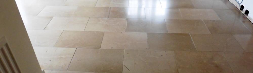 Limestone Floor in Shrewsbury Kitchen After