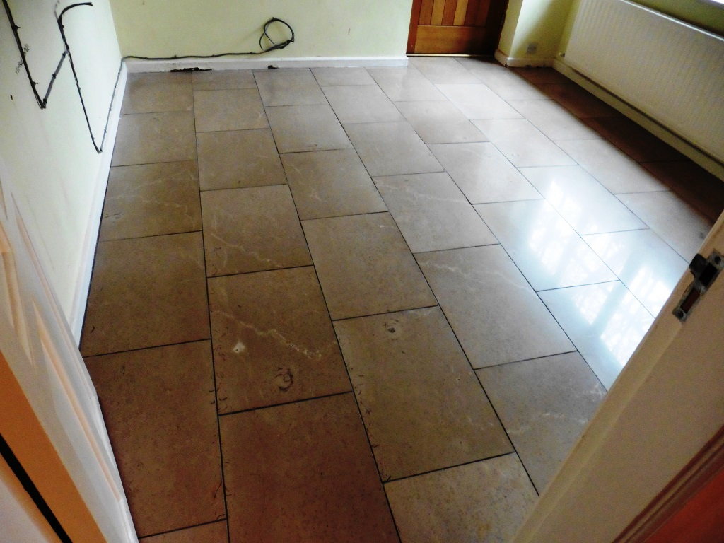 Limestone Floor in Shrewsbury Utility After