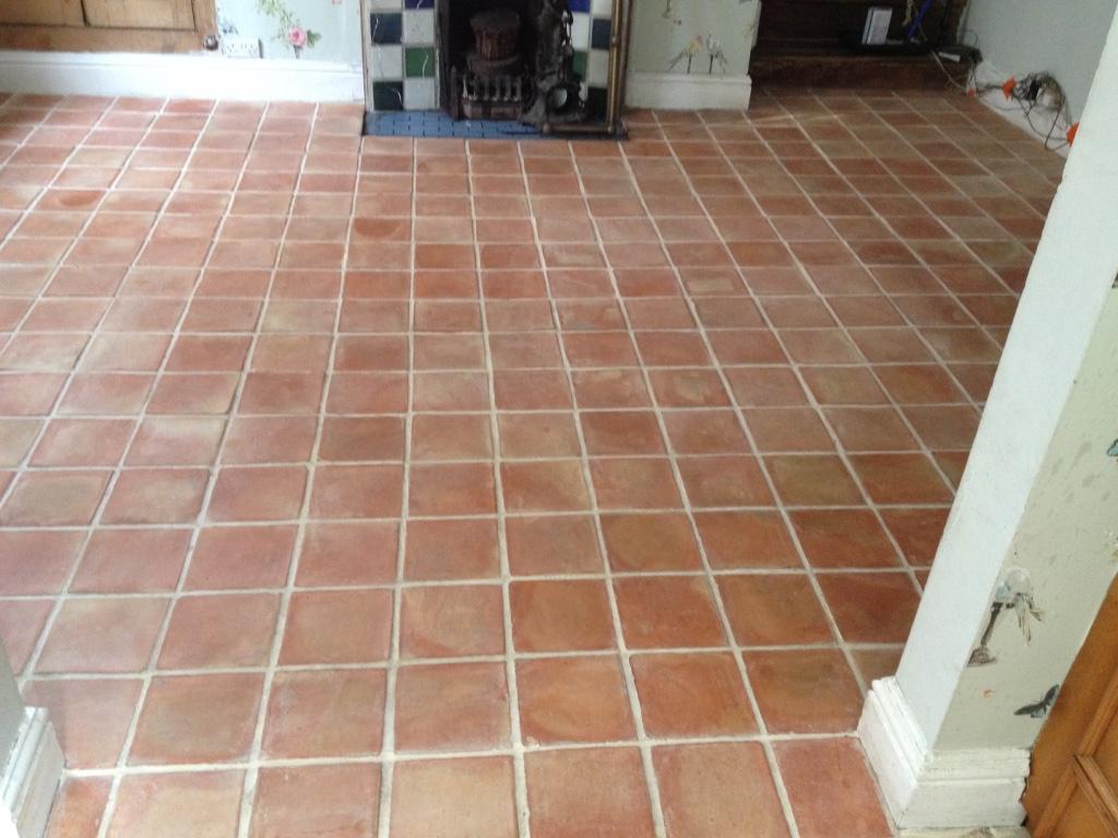 Refreshing Terracotta Floor Tiles In Shropshire